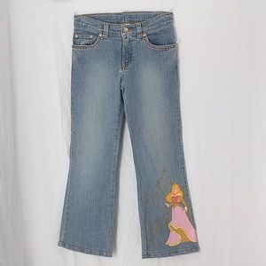 Disney store princess jeans sz 8 sleeping Beauty